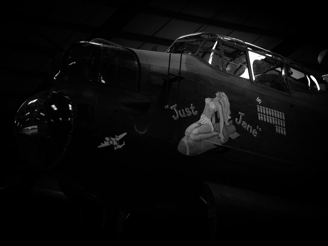 The WW2 Lancaster Bomber,